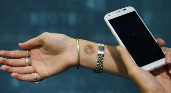 Ejemplo de uso de un tatuaje digital