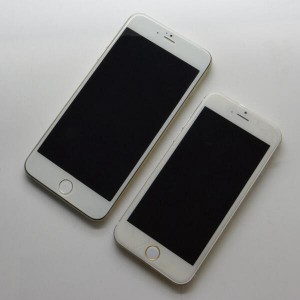 Posible parte frontal del iPhone 6